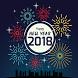 أجمل رسائل تهنئة رأس سنة 2018 by WellApps