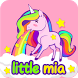 iKey Pro Little Mia Sticker by Colorful Keyboard Theme Designer