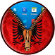 Albania Flag Zipper LockScreen by Locker