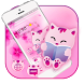 Cute Cat Cartoon Kitty Theme by Cool Wallpaper