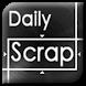 SCRAP : Daily Scrap App : by 217 Studio