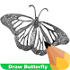 How To Draw Butterfly by Teachopolis