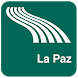 La Paz Map offline by iniCall.com