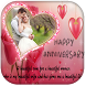 Anniversary Photo Frame : Card by Lucky Tips Collections