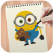Learn To Draw Despicable Me by DrawAnime