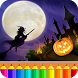 Halloween Drawing for kids by Coloring Games