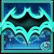 Neon Bat Keyboard Theme