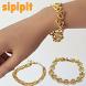 Gold Bracelet Design by sipipit
