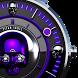 Purple Skull Watch Face by Titan Skull Watch Faces