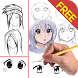 Draw Anime Manga Tutorials by bestfreeapps