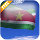 3D Suriname Flag LWP by App4Joy
