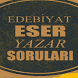 Edebiyat Eser Yazar Soruları by TARİ YAPIM