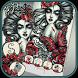 Tattoo Theme – rose skull & medusa myth by Beauty Die Marker