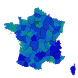French Departments by JPh