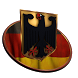 German Coat of Arms 3D by TLMNGTN