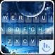 Blue Space FREE Keyboard Theme by Fashion News