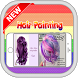 DIY Hair Coloring Design 2017 by doradroid