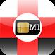 PrePaid Sim Card Aid 4 M1