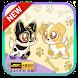 Dog Wallpaper Cute Shibaken's HD by Sasana Studio
