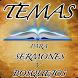 Temas para Sermones y Predicas by GakmApps Sermones Biblicos y Teologia Cristiana