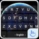 Planet Earth Keyboard Theme by Fashion News