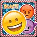 Emoji Blast by Andy Brow