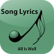 Hindi Lyrics of All Is Well by ENTERTAINMENT APPS
