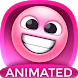 Pink Emoji Pack for SMS Plus by superstarappz