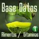 VITAMINAS / ALIMENTOS, PLATOS BASE DATOS SQLVIT1