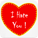 Hate You Gif by Sky Photo Editor
