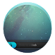 Blue Galaxy HD Locker Theme by AT&SS