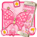 Pink Diamond Butterfly Theme by Luxury Mobile Themes
