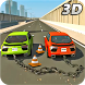 Chained Cars Traffic Racer Chain Break Stunt Game by Monarchor