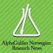 AlphaGalileo Norwegian News by Peter Green