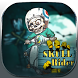Skull Zombie Cartoon Theme by Launcher Fantasy
