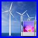 Wind Turbines 3D Free by korndanai kaewwilai
