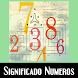 Significado de los numeros by MejorApp