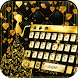 Gold Butterfly Keyboard Theme by Theme Lovely