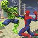 Monster Hero vs Flying Spider City Battle by Super Heroes Game Studios