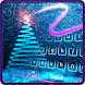 Neon Sparkly Star Keyboard
