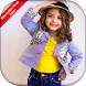 Kids Fashion Photo Montage by hisab fashion suit apps