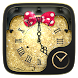 BowKnot GO Clock Theme by Ltd. talent
