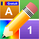 Litere Numere Culori Gratuit by We Play We Learn