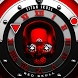 Red Skull Watch Face by Titan Skull Watch Faces