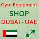 Gym Equipment Shop Dubai - UAE by JangoMango