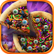 Halloween Candy Pizza Maker by Detention Apps