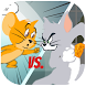 Tom fights Jerry for cheese by icnbb