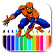 spiderman for coloring by chy mngmnt