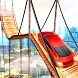 Xtreme Car Stunts Race 3D:Tricky Car Crazy Rider
