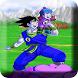 Goku Saiyan Fight shin budokai